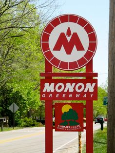 Monon Trail- walk, run, bike, rollerblade from Westfield to Indianapolis