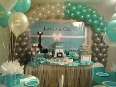 tiffany and company birthday party   Tiffany & Co. Birthday Party Ideas   Photo 8 of 65