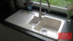 Küchenspüle Condor 60 von Villeroy und Boch. Die zeitlose, klassische Keramikspüle passend für fast jede Küche. Beratung und Verkauf über EUE Hamburg.