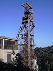 Parco Minerario Naturalistico di Gavorrano – Wikipedia Utility Pole, Building, Italy, Buildings, Architectural Engineering, Tower