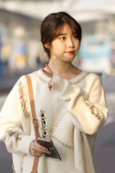 Korean Actresses, Korean Actors, Iu Fashion, Korean Fashion, Korean Bangs Hairstyle, Korean Hairstyles, Iu Hair, Snsd, Divas