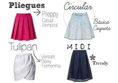 Fashion Blog Mexico   Foto de Tipos de faldas para chicas de tallas extra