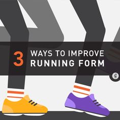 3 Simple Tricks to Improve Running Form (And Have the Best Run Ever) #running #fitness