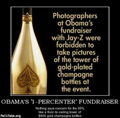 """Hypocrite...Do as obama says, don't forget he's """"THE ONE"""" along with all the entitlements... while everyone else struggles! (PJ)"""