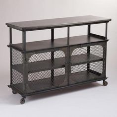 Metal Bexley Bar (Cost Plus). To put in the backyard for parties. LOVE.