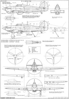 I Hawker Hurricane Mk.I,WWII fighter and bomber aircraft Hoja de Hawker Hurricane Mk … Hurricane Drawing, Rc Trucks For Sale, Aviation Engineering, Floor Plan Drawing, Hawker Hurricane, War Thunder, Ww2 Planes, Battle Of Britain, Aircraft Design