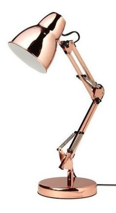 57 Ideas diy lamp copper rose gold for 2019 Rose Gold Lamp, Rose Gold Room Decor, Rose Gold Rooms, Gold Lamps, Black Lamps, Gold Bedroom, Bedroom Lamps, Desk Lamp, Table Lamp