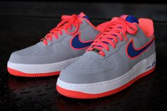 NIKE AIR FORCE 1 (WOLF GREY) - Image #2