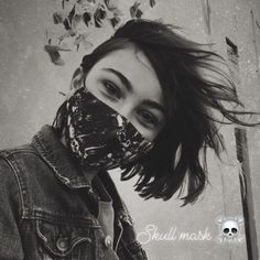 Skull Mask, Surface Design, My Favorite Things, Collection, Instagram, Skull Face Mask