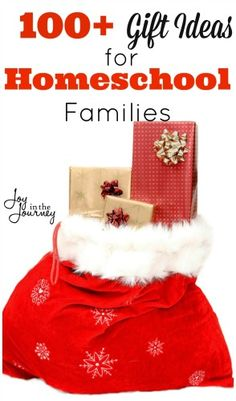 100 + Christmas Gift Ideas for Homeschool Families