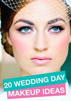 Click for fabulous wedding day makeup inspiration!