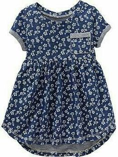 Old Navy Floral Hallo Low Terry Kleid, Herbst Mode Kleider, Little Girl Outfits, Little Girl Fashion, Little Girl Dresses, Baby Outfits, Kids Outfits, Girls Dresses, Baby Dresses, Dresses For Babies, Fashion Kids