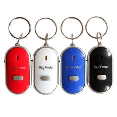 Security & Protection Portable Old People Anti-lost Alarm Key Finder Wireless Useful Whistle Sound Led Light Locator Finder Keychain High Quality To Rank First Among Similar Products