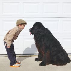 Stasha Becker aka @Stasha Becker, the mother and photographer of her 4-year-old son Julian and their huge dog, a five-year-old Newfoundland named Max. The family lives in the Pacific Northwest, on an island just above Seattle. As Stasha states, Our island is one big playground and there are adventures galore.