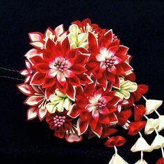 Kanzashi Japanese Traditional Ornament | Kusuyama