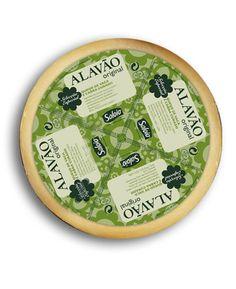 La selección especial Alavão es un sabor a queso y exquisito sabor de primera calidad producida a partir de una selección especial de vaca y leche de cabra.