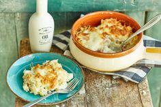 Gyors, cuccos karfiol Hummus, Mashed Potatoes, Ethnic Recipes, Kitchen, Food, Street, Homemade Hummus, Cooking, Meal