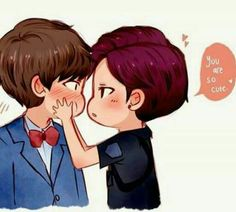 #fanart #vkook #taekook #bts #v #jungkook