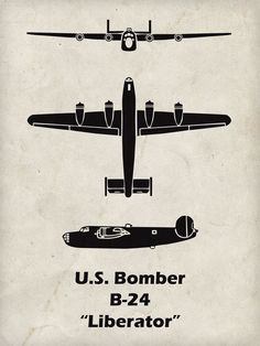 The B-24 was manufactured by Consolidated Aircraft Corporation. Originally they were asked to produce the B-17 however after two of their employees spent time in the B-17 factory the company decided t