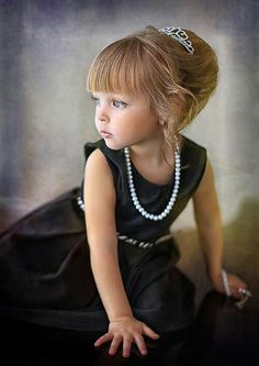 classics like a black dress and pearls can really create a timeless image.