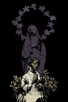 Mike Mignola - If Gustav Klimt and Charley Harper were warped and twisted, then went and had a moody love-child