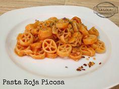 La Lola Dice: Pasta Roja, Picosita