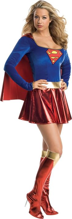 Classic Supergirl Costume Adult - Party City