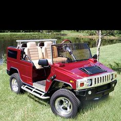 Custom Golf Cart body kits for ezgo, club car, Yamaha golf carts. Golf carts for sale florida. 57 chevy and hummer golf cart builds Custom Golf Cart Bodies, Custom Golf Carts, Hummer Golf Cart, Golf Cart Body Kits, Golf Gadgets, Woods Golf, Hummer H2, Golf Humor, Funny Golf