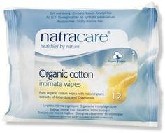 NatraCare Organic Cotton Intimate Wipes $4.49 - from Well.ca