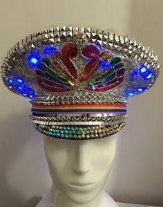 Love Khaos Hats Fashion for the extraordinary #burningman #festivalfashion #festivalstyle #bohochic #burningmanhat #burnerstyle #raveoutfit #halloweencostume #fashioninspiration #coachella