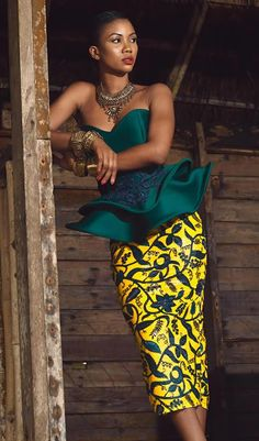 Afro Mod Trends Releases Their Latest Look Book Titled Painted Flower SS/18