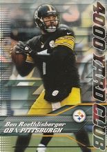 2014 Topps 4000 Yard Club #7 Ben Roethlisberger, Pittsburgh Steelers