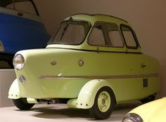 1955 Inter Cabin Scooter