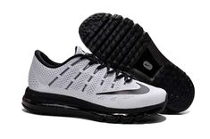 detailing ce434 b532a Buy Hot Classic Nike Air Max 2016 Flyknit Black And White Mens Running Shoes  from Reliable Hot Classic Nike Air Max 2016 Flyknit Black And White Mens ...
