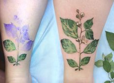 """Ukrainian tattoo artist, Rita """"Rit Kit"""" Zolotukhina is redoing the way tattoos are created. By dipping leaves and other plants in tattoo stencil ink, Rit Kit, is replicating nature on her clients in a whole new process. What results are strikingly natural tattoos. Rit Kit told Illusion Magazine in an interview she and her clients, """"don't know thedefinitive look when we start, just the colors, the mood and basic shape."""" Check out more of her work here."""