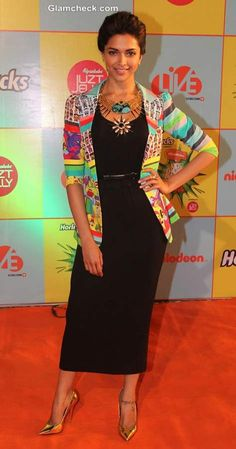 Deepika Paduone at Nickelodeon Kids Choice Awards 2013