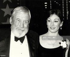 News Photo : John Huston and Anjelica Huston during American... Anjelica Huston, John Huston, Film Institute, Still Image, American, News