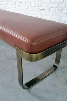 bench, coral, marsala, panetone, brass, alama, messing, retro, vintage, 50s, coralle
