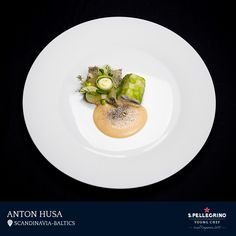Anton Husa will represent Scandinavia and Baltics at the Grand Finale with his dish of leek-coated cod, caramelised celeriac, stuffed onions and smoked dill emulsion, served with a roasted cod and leek foam, dried liken and watercress.