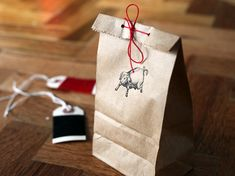 Simple yet perfect packaging by Alana Davis found via the Creature Comforts blog
