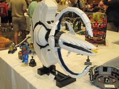 For all your Star Trek fans of Lego - Spock's Ship in Lego