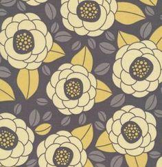Free Spirit Fabric - Aviary 2 Granite Bloom - Ships Free