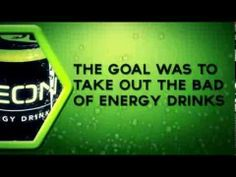 NEON Energy Drink Commercial Energy Drinks, Neon, Goals, Youtube, Commercial, Natural, Neon Colors, Youtubers, Nature