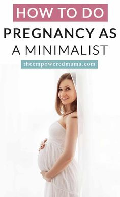 I have to admit... I'm quite the minimalist. Not the 'all my furniture is white and if it doesn't speak to me I throw it out' kind of minimalist. But more the 'do I actually Pregnancy First Trimester, Second Pregnancy, Pregnancy Workout, Pregnancy Tips, Second Trimester, Trying To Get Pregnant, Getting Pregnant, Birth Photos, Fertility Diet