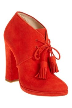 hello red boots.. ready for today journey? hot red boost your confidence