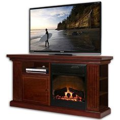 Stonegate Houston TV Stand with Electric Fireplace