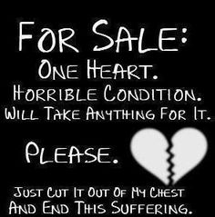 about broken heart quotes about broken heart quotes emo love quotes and poems Broken Heart Quotes Many broken heart quotes Broken Heart Bro. Love Sayings, Sad Love Quotes, Quotes To Live By, Emo Sayings, Hurt Quotes, Random Sayings, Heart Broken, Broken Heart Quotes, Broken Hearted