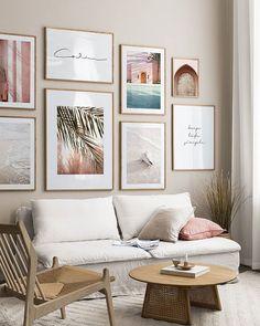 "DESENIO - POSTERS ONLINE en Instagram: ""Summer at home 🐚✨   ________ Designs 'Feel the Sunlight' 50x70 cm. 'Calm Handwriting' 50x70 cm. 'Peaceful Moments' 50x70 cm. 'Golden…"""