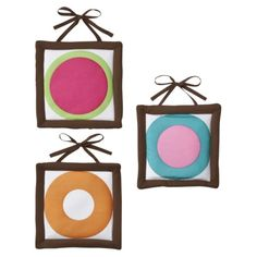 Sweet Jojo Designs Deco Dot Wall Hangings