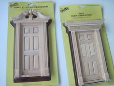 DIY Tooth Fairy doors...doll house pieces...including various hardware etc...